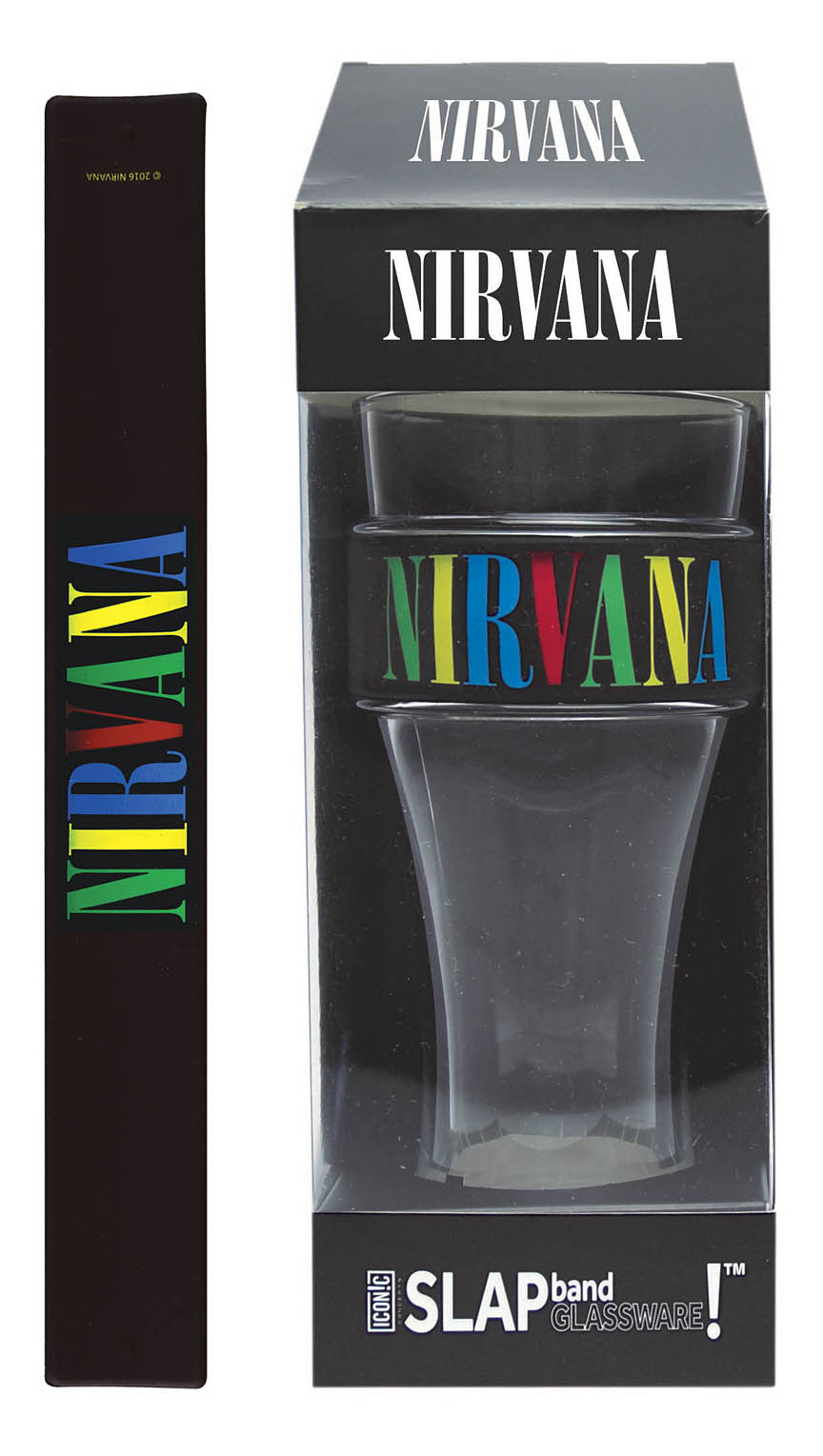 Product Cover for Nirvana Slap Band Single Pint Glassware