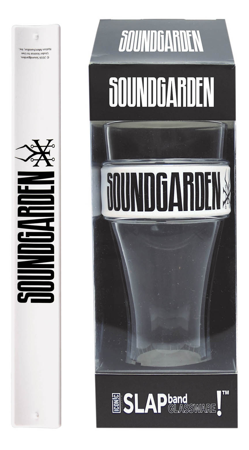 Product Cover for Soundgarden Slap Band Single Pint Glassware