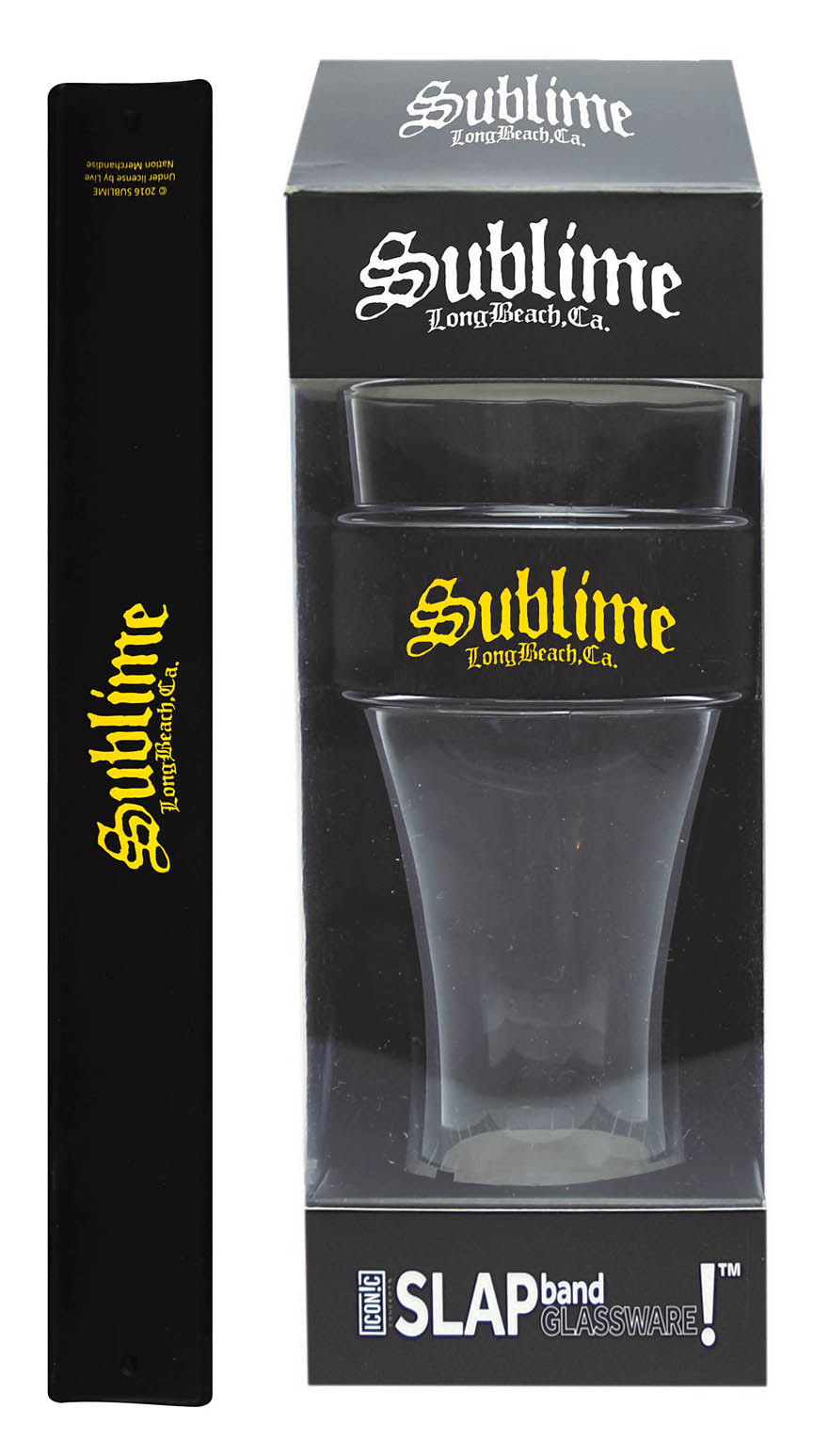 Product Cover for Sublime Slap Band Single Pint Glassware