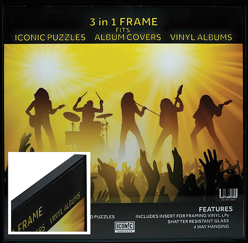 Product Cover for Iconic Concepts 3 in 1 Picture Frame