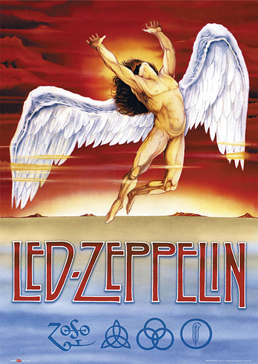 Led Zeppelin – Swan Song – Wall Poster