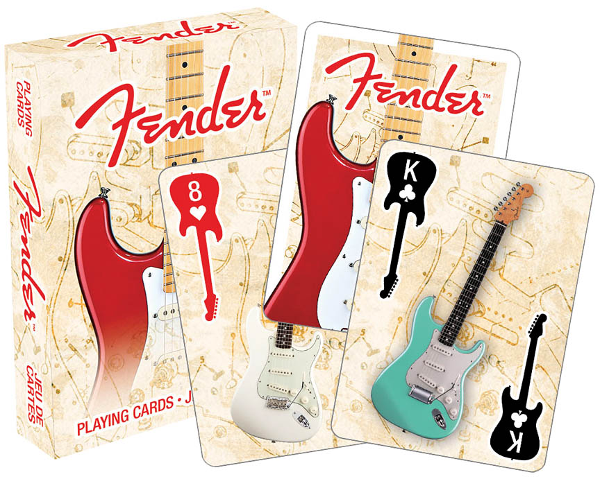 Product Cover for Fender™ Stratocaster™ – Playing Cards