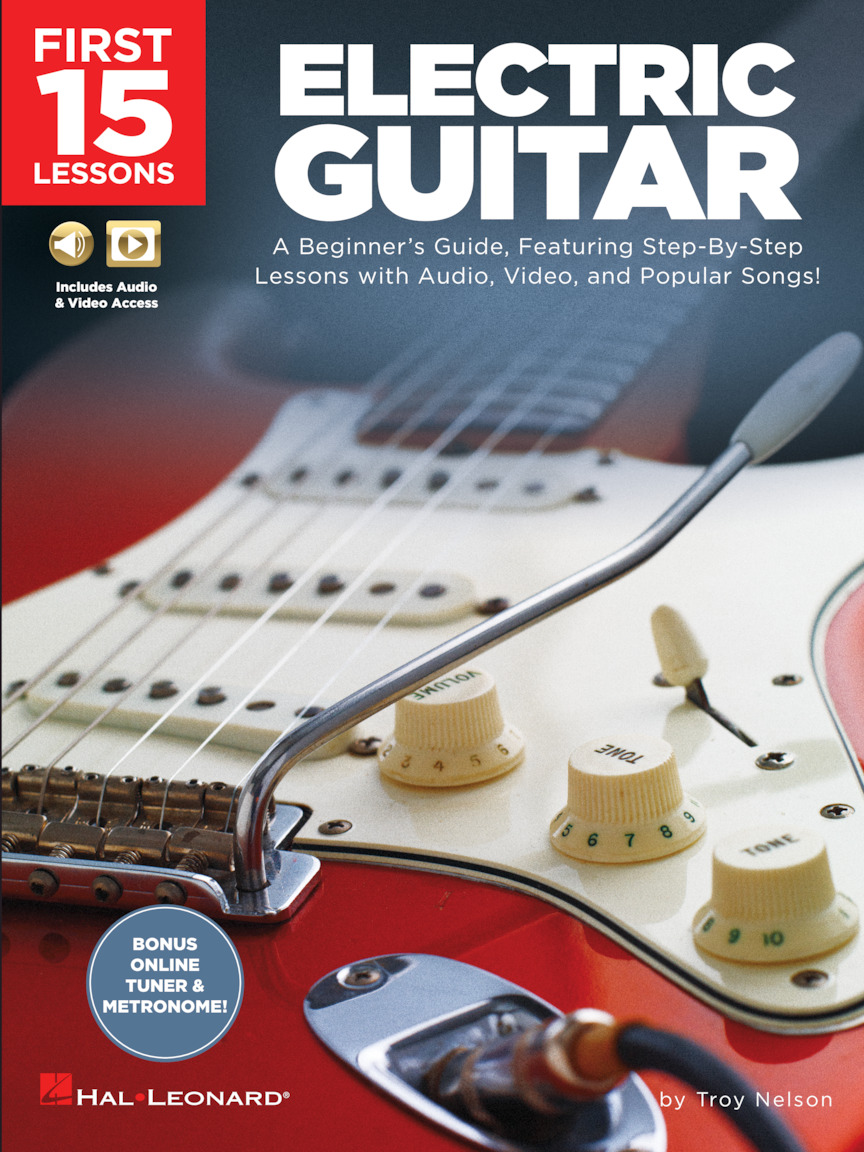 Product Cover for First 15 Lessons – Electric Guitar