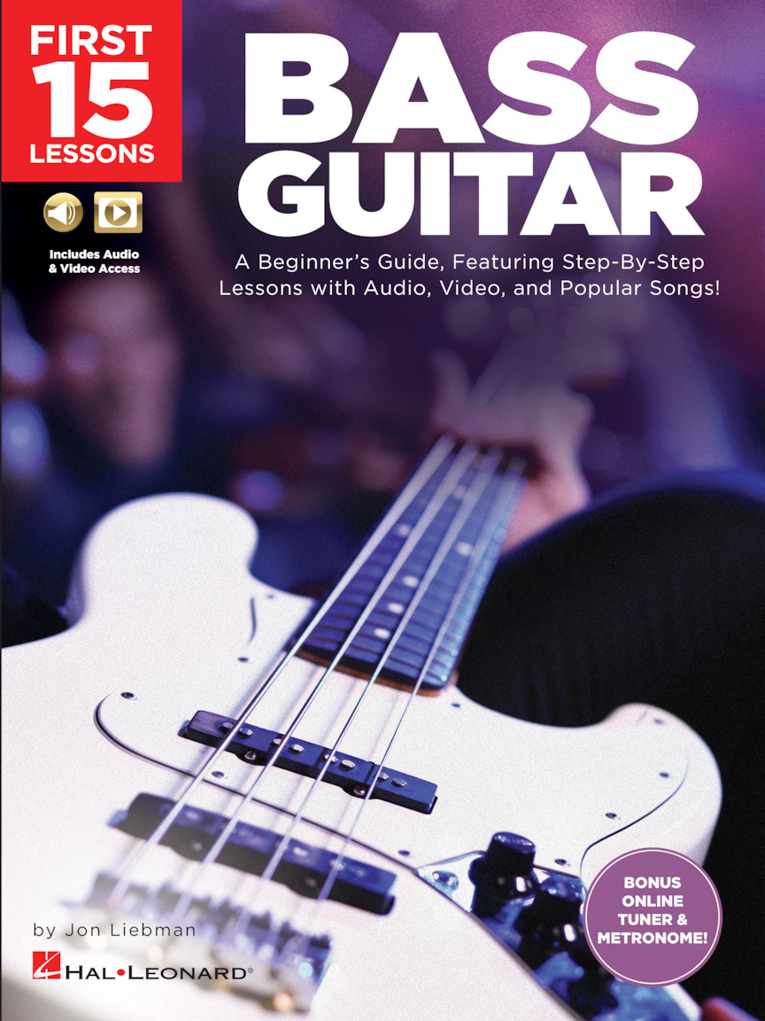 Product Cover for First 15 Lessons – Bass Guitar
