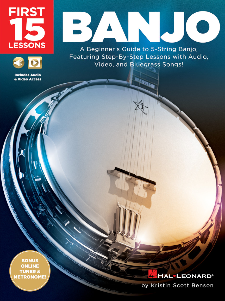Product Cover for First 15 Lessons – Banjo