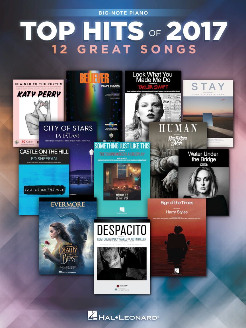 Product Cover for Top Hits of 2017 for Big-Note Piano