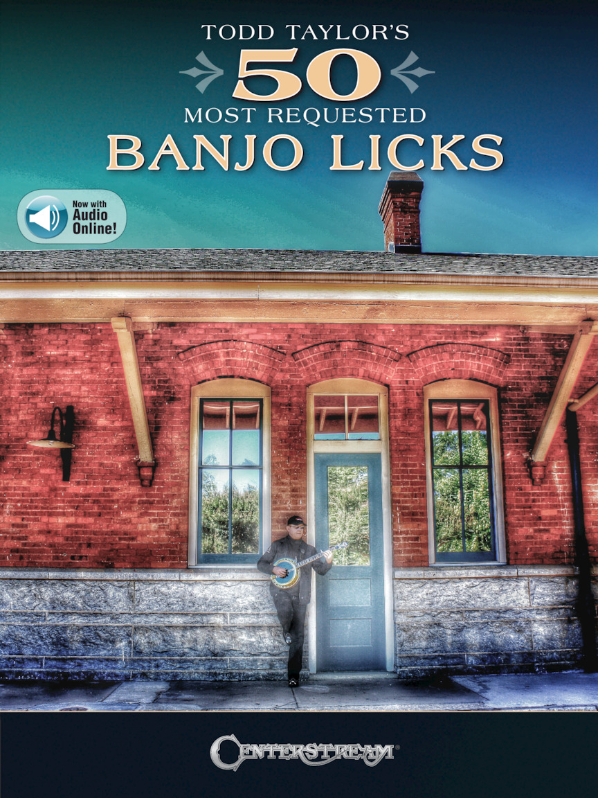 Product Cover for Todd Taylor's 50 Most Requested Banjo Licks