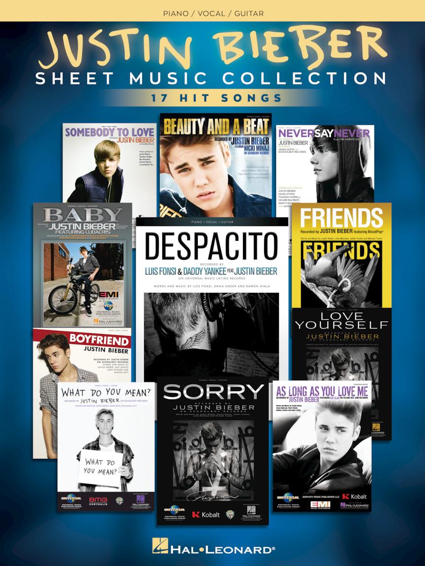 Justin Bieber – Sheet Music Collection
