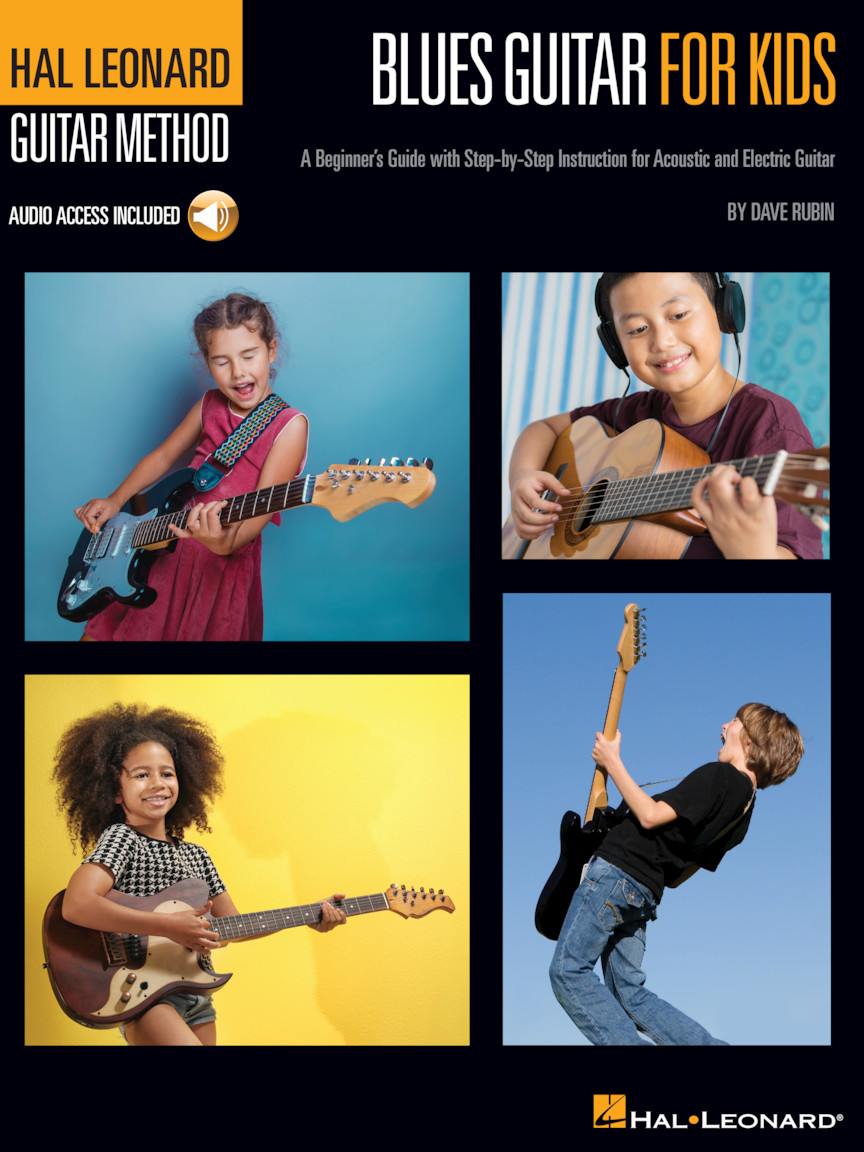 Product Cover for Blues Guitar for Kids – Hal Leonard Guitar Method