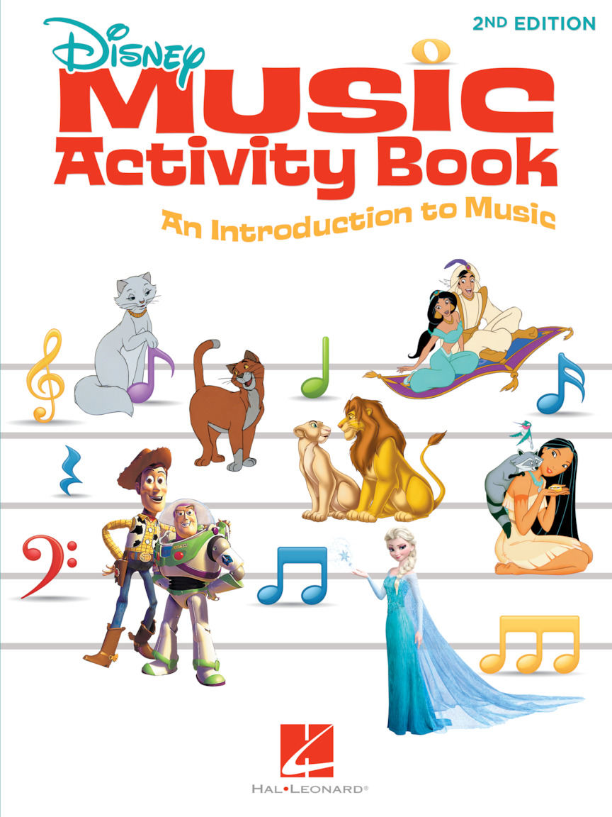Product Cover for Disney Music Activity Book – 2nd Edition