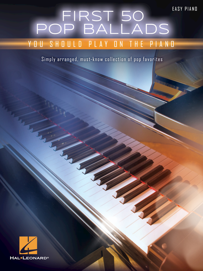 Product Cover for First 50 Pop Ballads You Should Play on the Piano