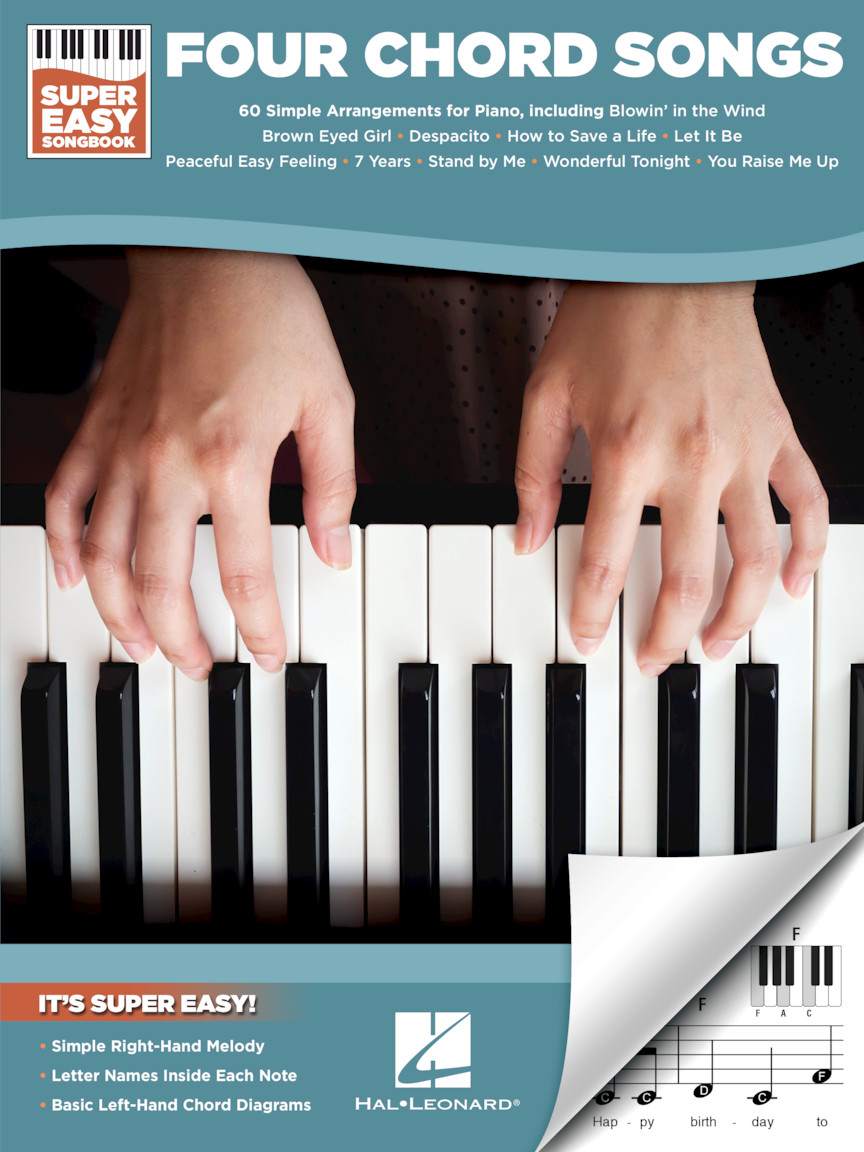 Product Cover for Four Chord Songs – Super Easy Songbook