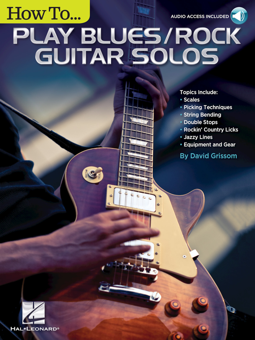 Product Cover for How to Play Blues/Rock Guitar Solos