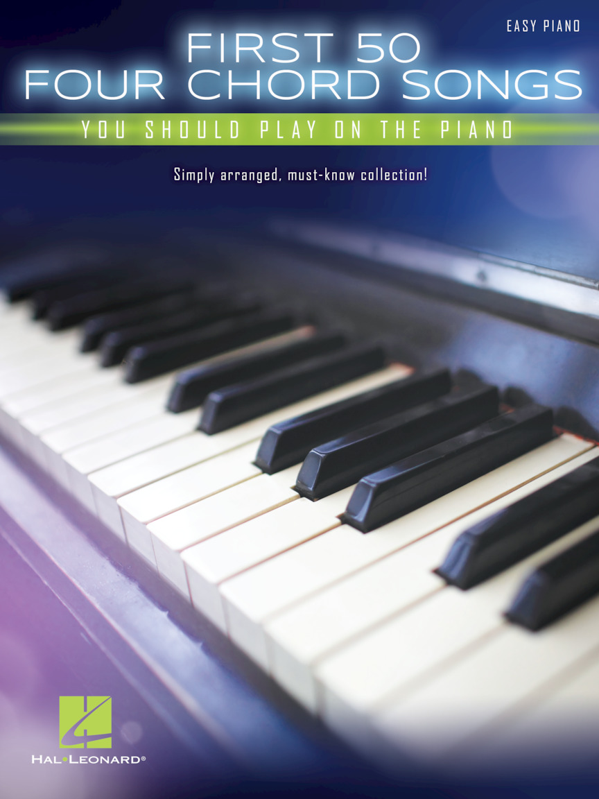 Product Cover for First 50 4-Chord Songs You Should Play on the Piano