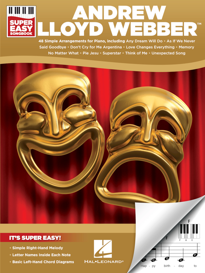 Product Cover for Andrew Lloyd Webber – Super Easy Songbook