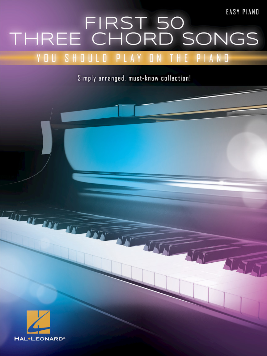 Product Cover for First 50 3-Chord Songs You Should Play on Piano