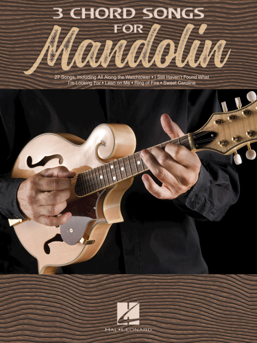 Product Cover for 3 Chord Songs for Mandolin