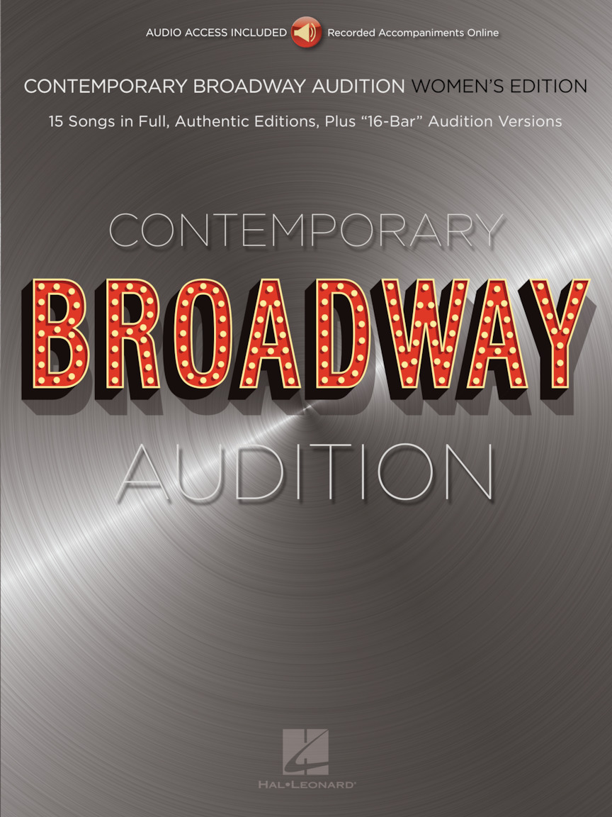 Product Cover for Contemporary Broadway Audition: Women's Edition – Book/Online Audio
