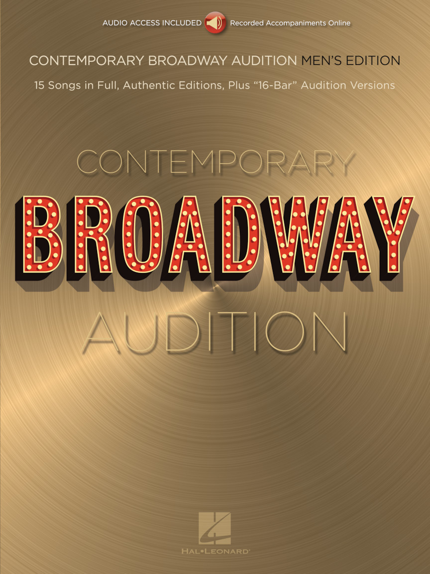 Product Cover for Contemporary Broadway Audition: Men's Edition – Book/Online Audio
