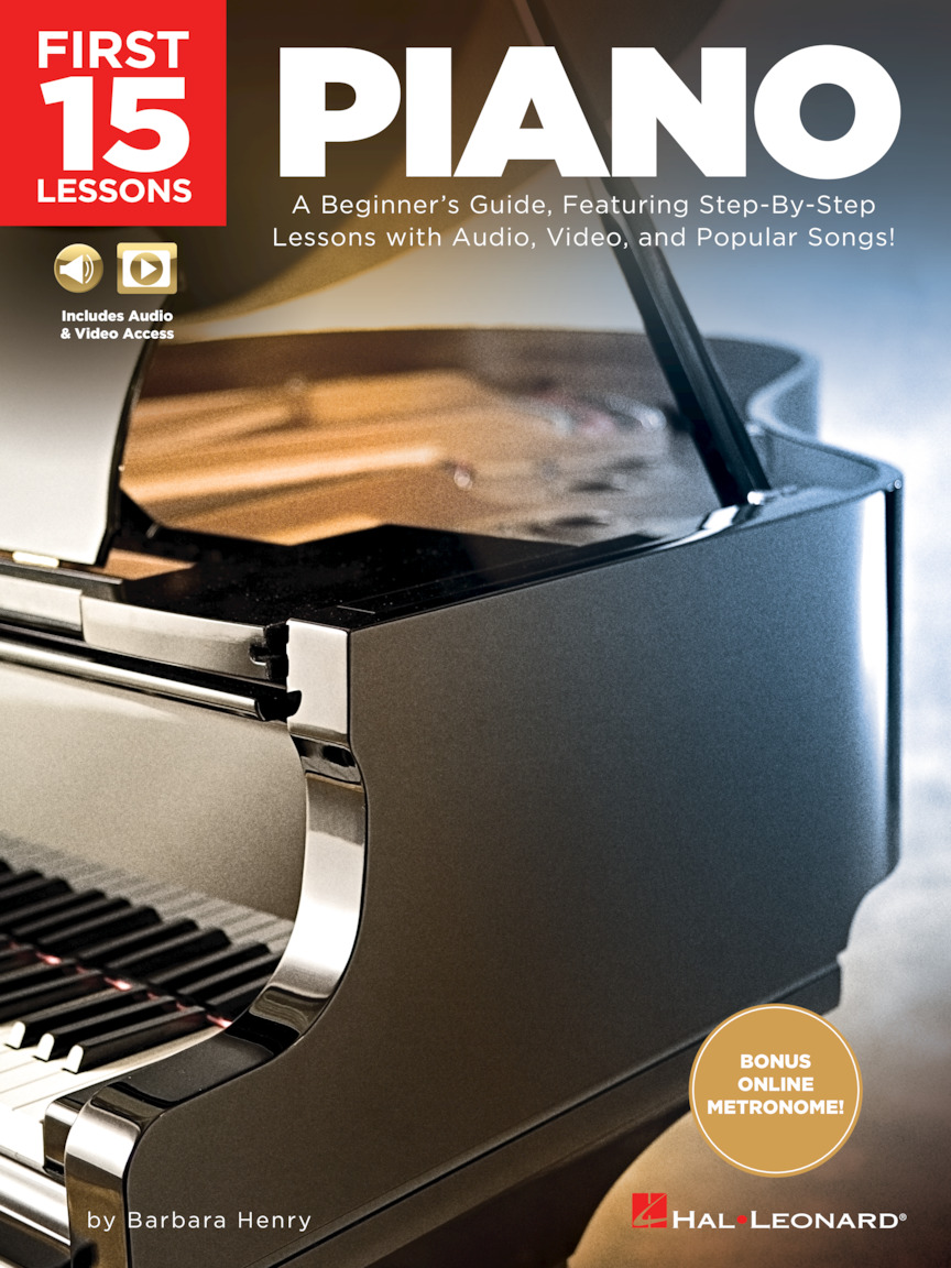 Product Cover for First 15 Lessons – Piano