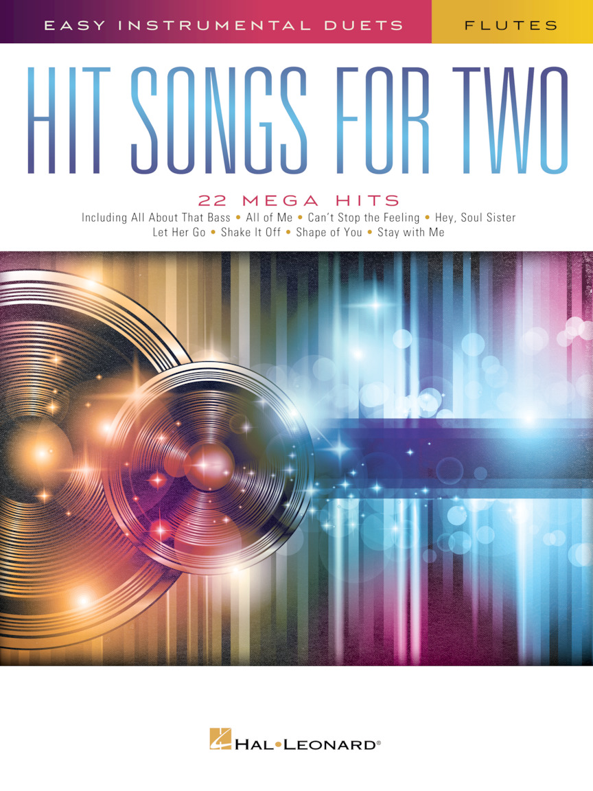 Product Cover for Hit Songs for Two Flutes