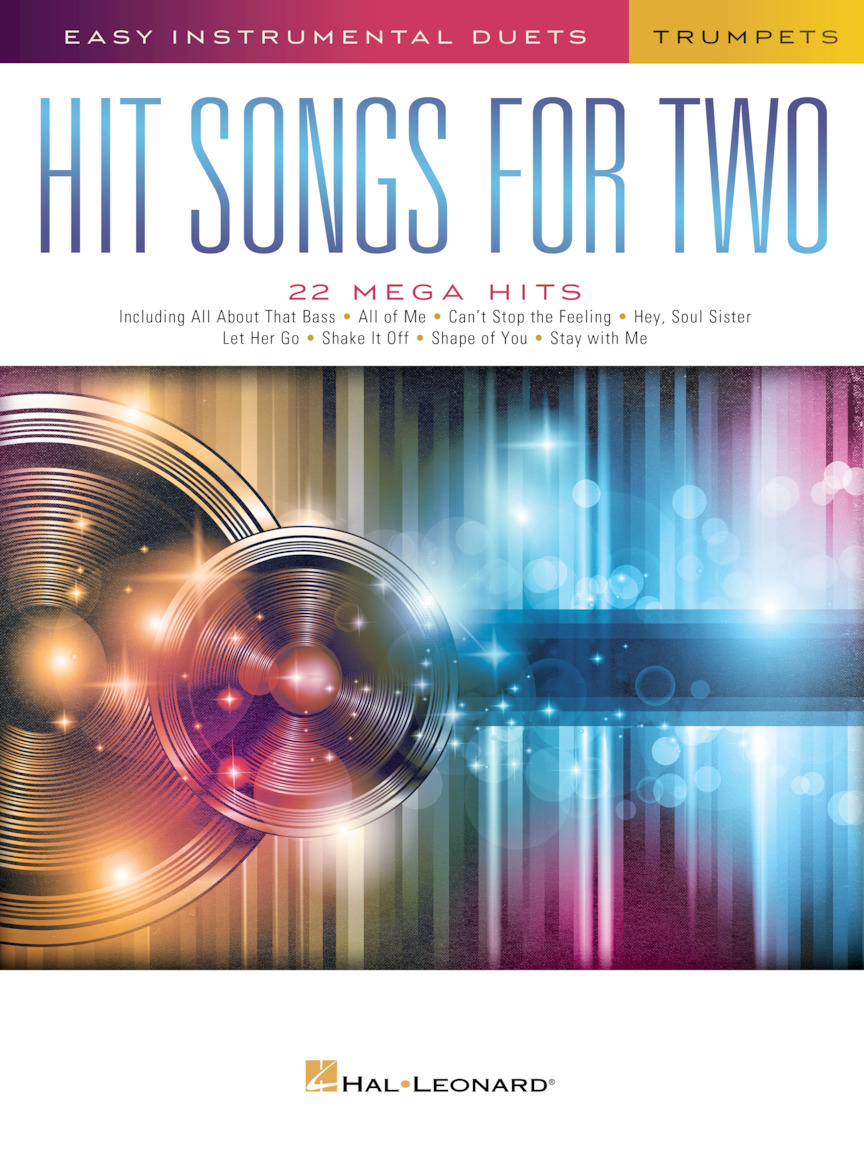 Product Cover for Hit Songs for Two Trumpets