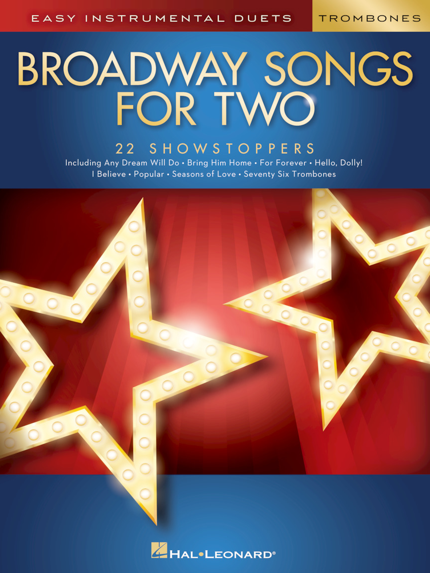 Product Cover for Broadway Songs for Two Trombones