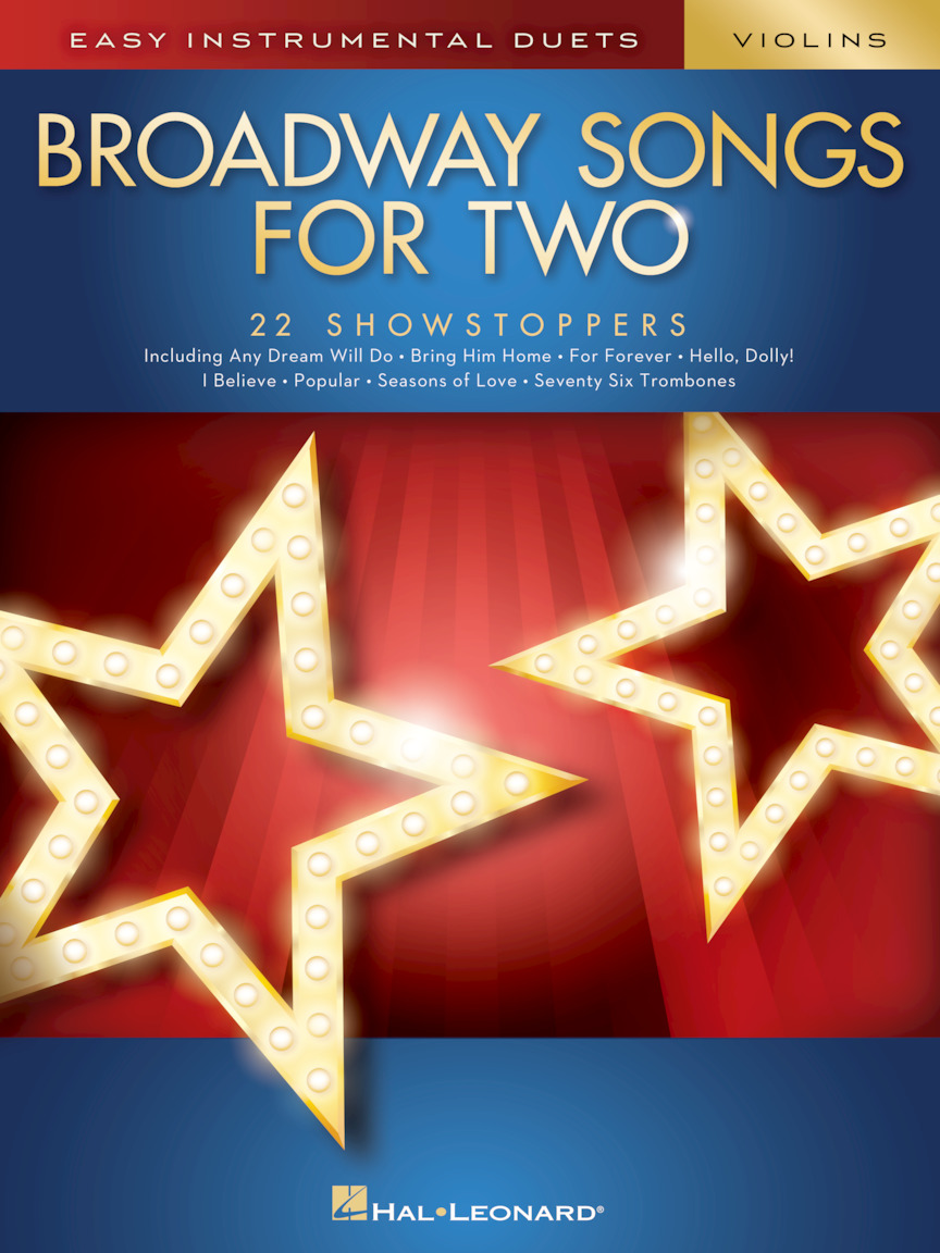Product Cover for Broadway Songs for Two Violins