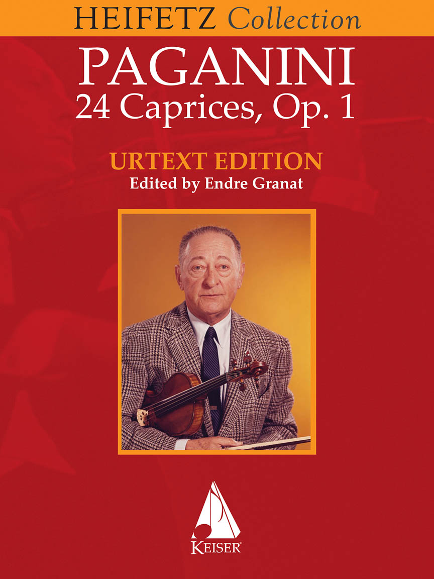 Product Cover for 24 Caprices for Violin Solo