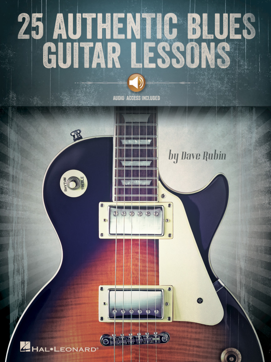 Product Cover for 25 Authentic Blues Guitar Lessons