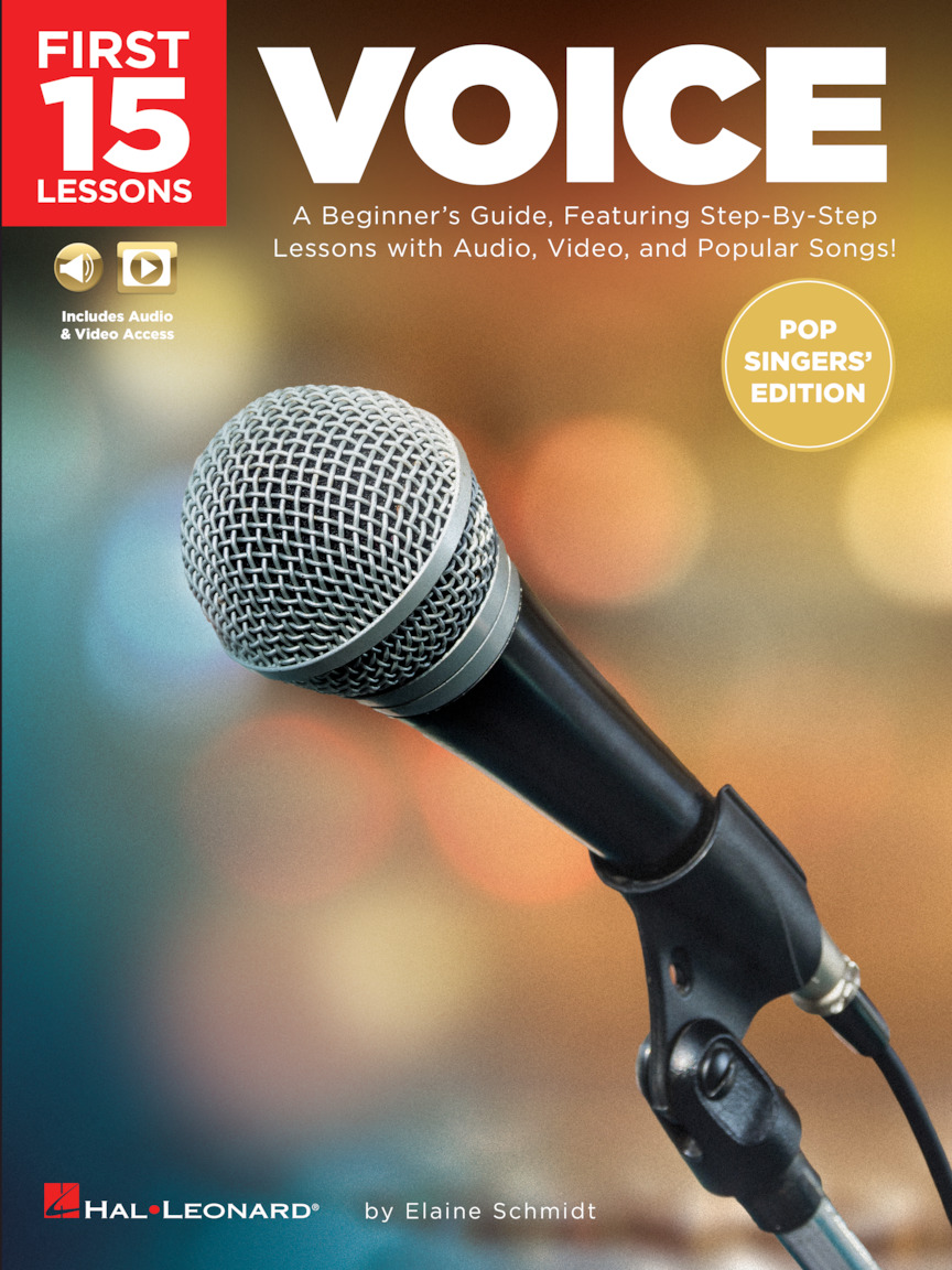 Product Cover for First 15 Lessons – Voice (Pop Singers' Edition)