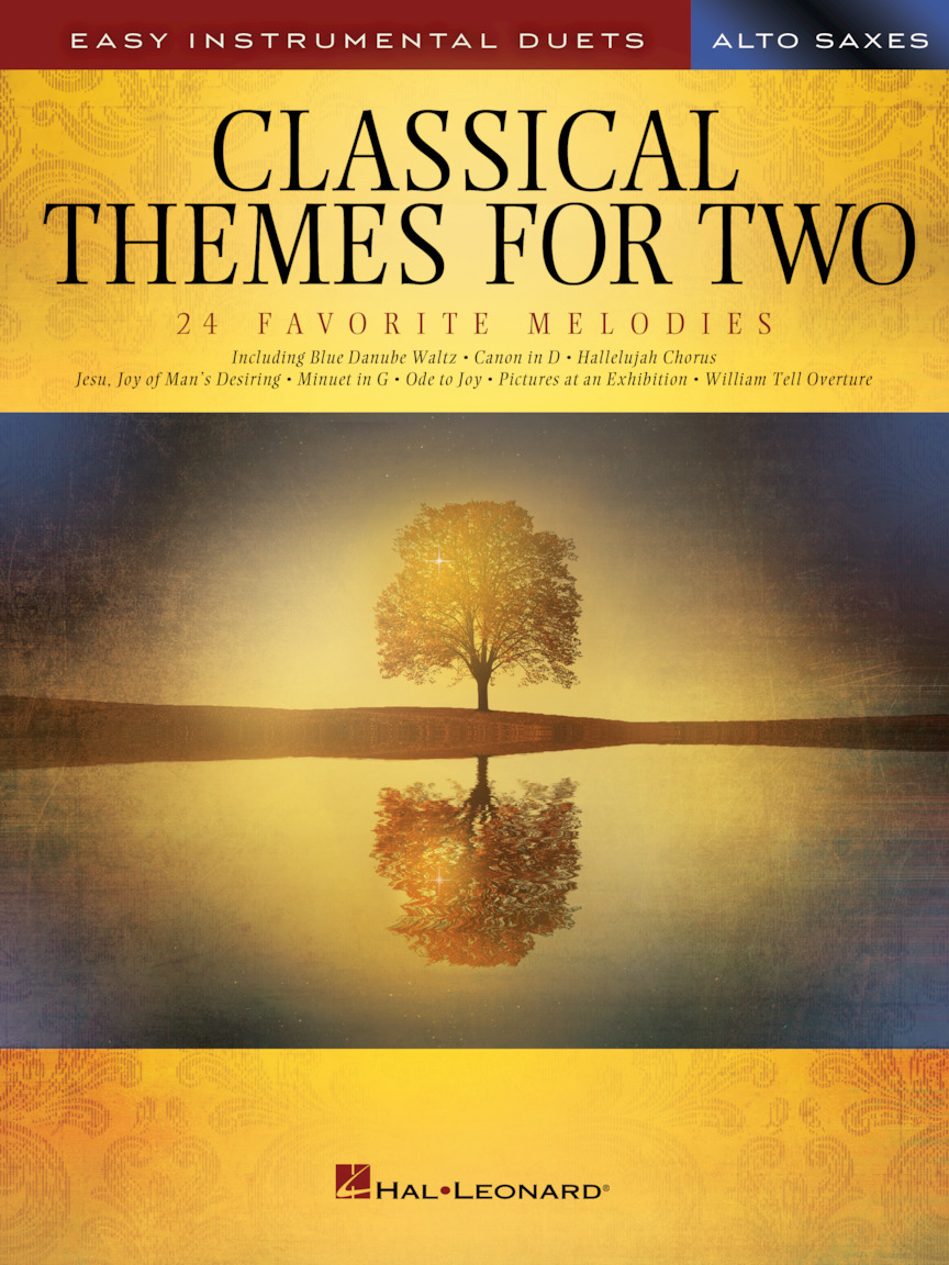 Product Cover for Classical Themes for Two Alto Saxophones
