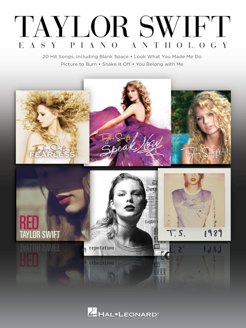 Product Cover for Taylor Swift – Easy Piano Anthology
