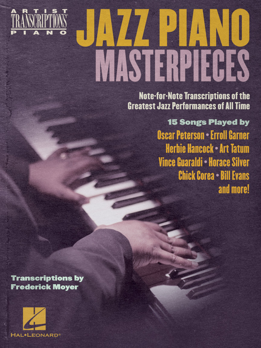 Product Cover for Jazz Piano Masterpieces – Note-for-Note Transcriptions of the Greatest Jazz Performances of All Time