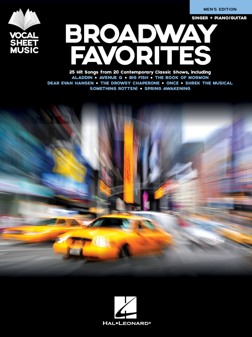 Product Cover for Broadway Favorites – Men's Edition