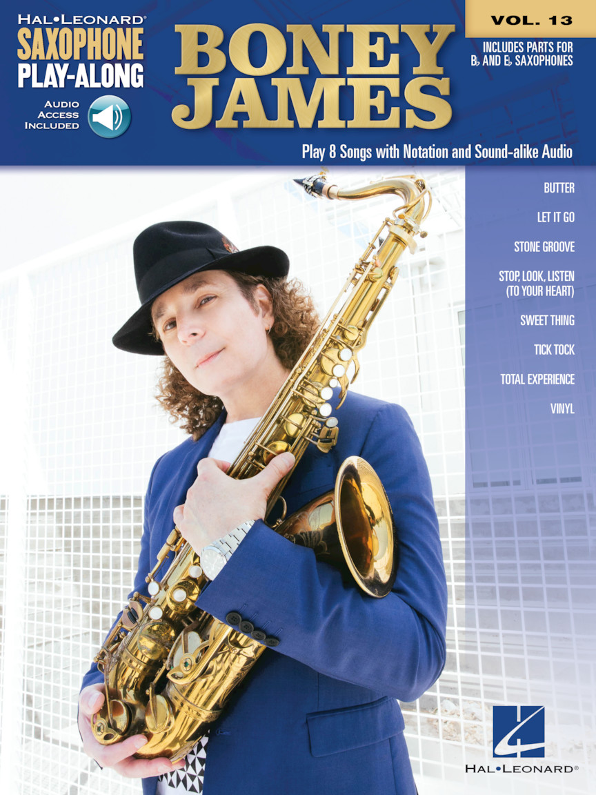 Boney James Saxophone Play-Along