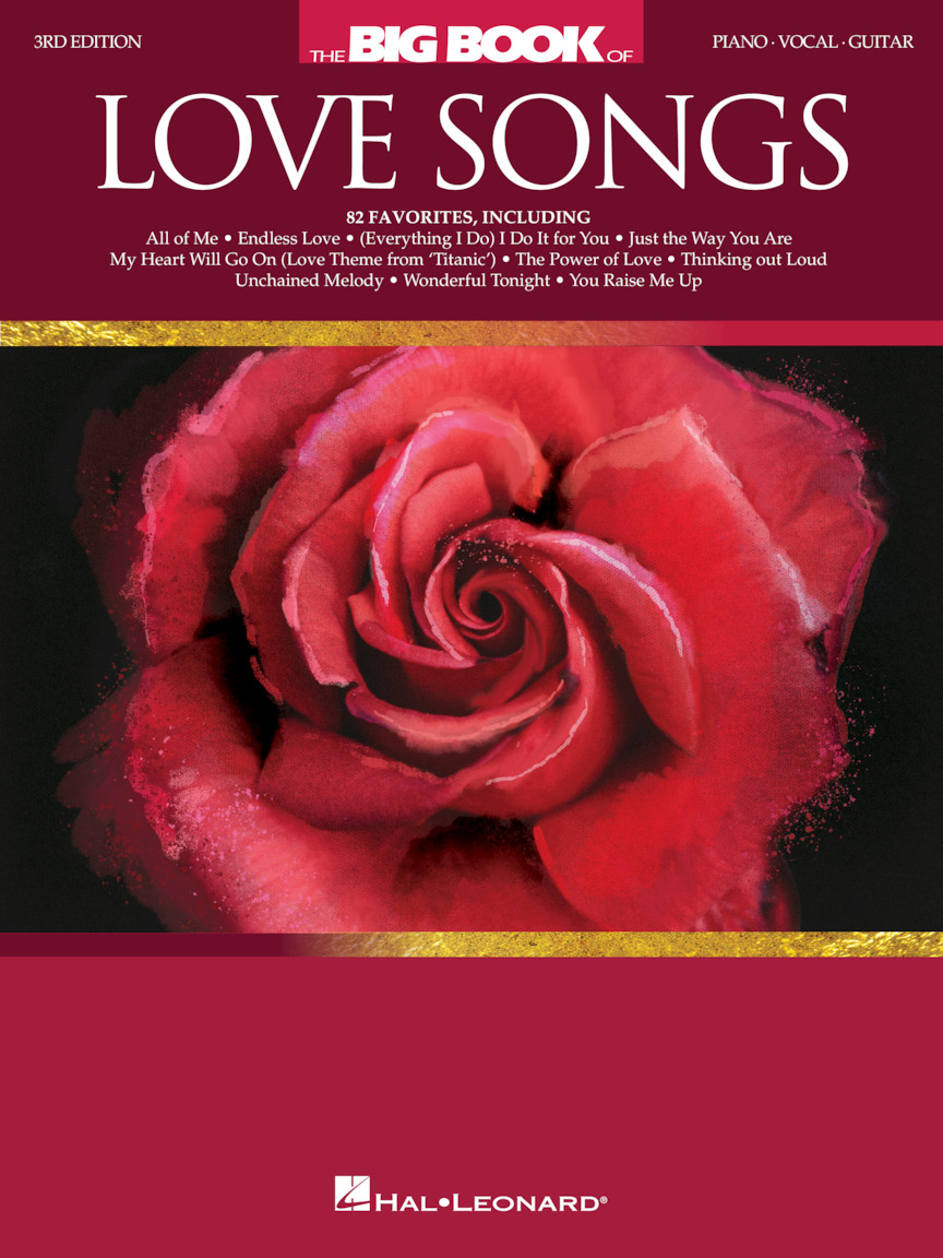 Product Cover for The Big Book of Love Songs – 3rd Edition