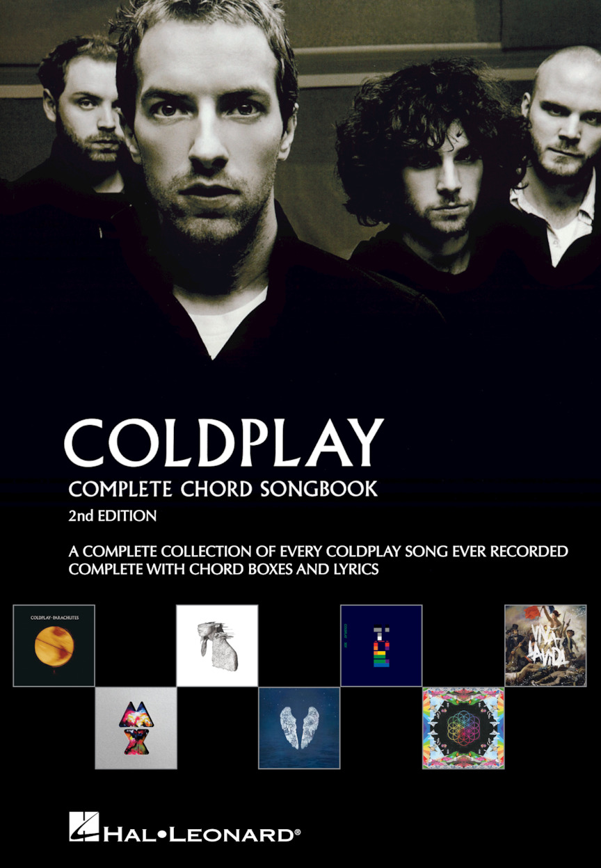 Product Cover for Coldplay – Complete Chord Songbook – 2nd Edition