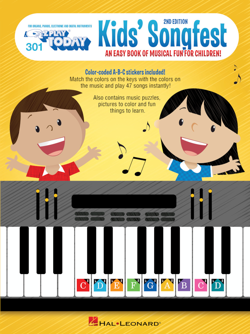 Product Cover for Kid's Songfest – 2nd Edition