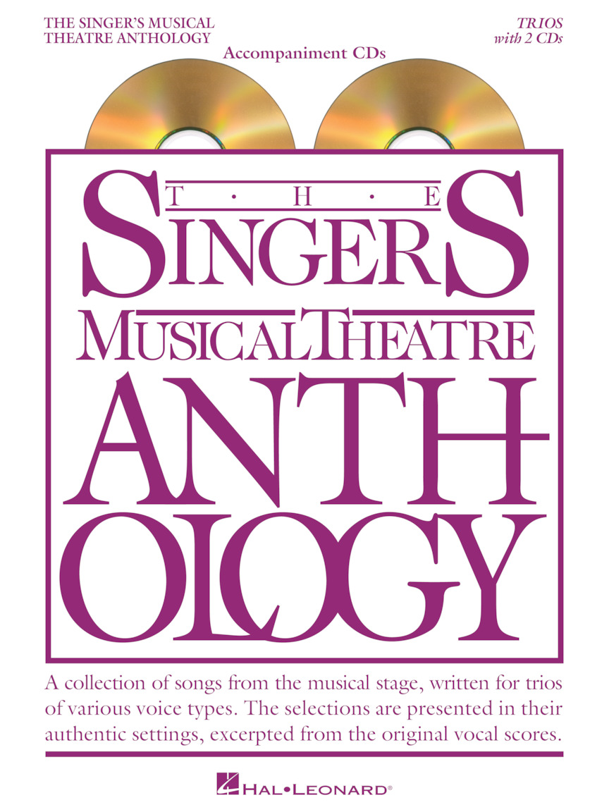 Product Cover for Singer's Musical Theatre Anthology – Trios