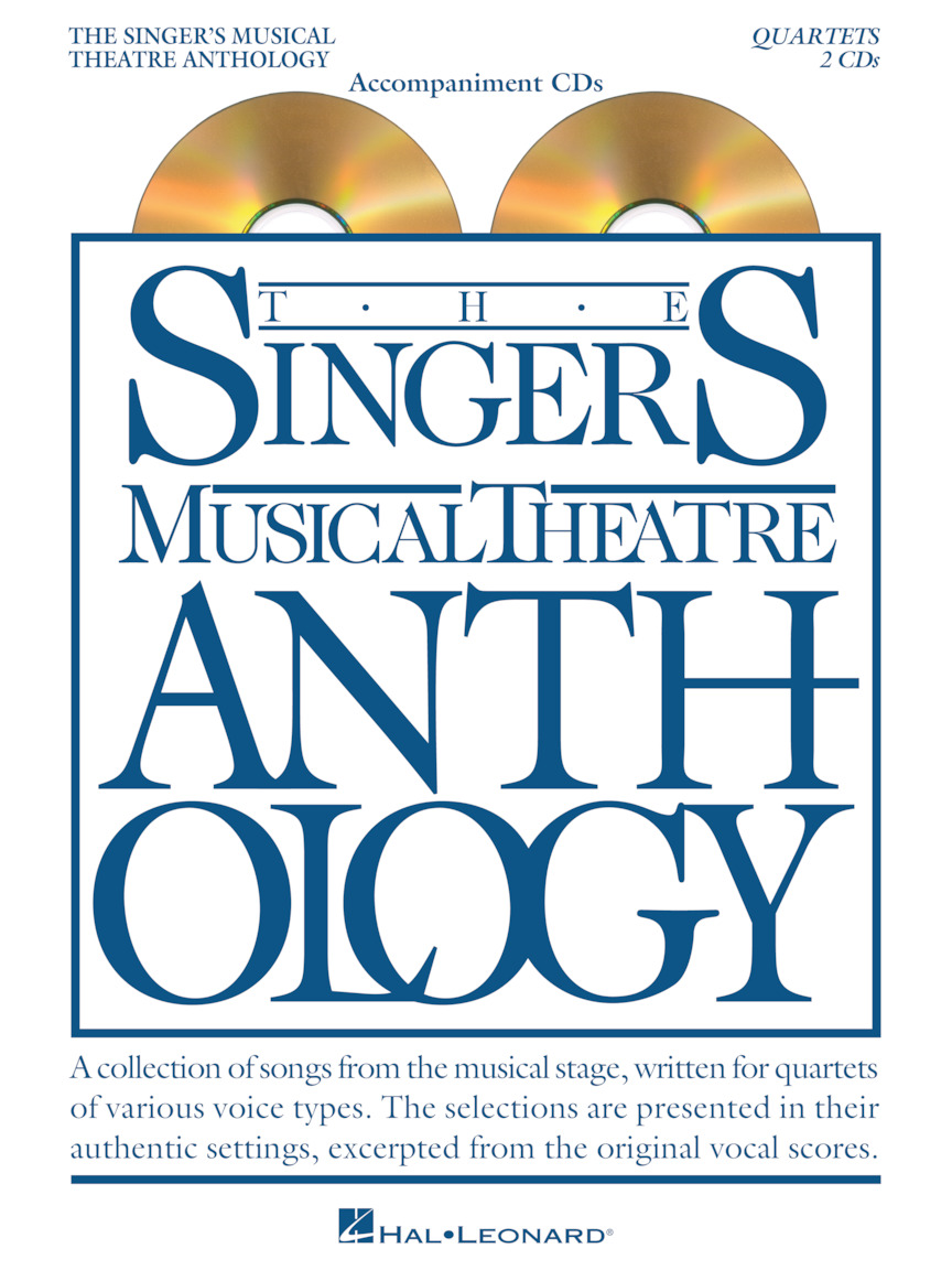 Product Cover for Singer's Musical Theatre Anthology Quartets