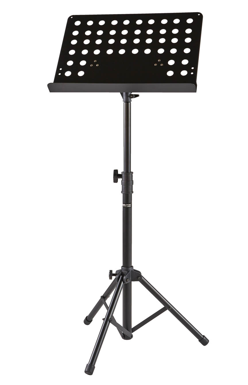 Portable Symphonic Music Stand with Vented Desk