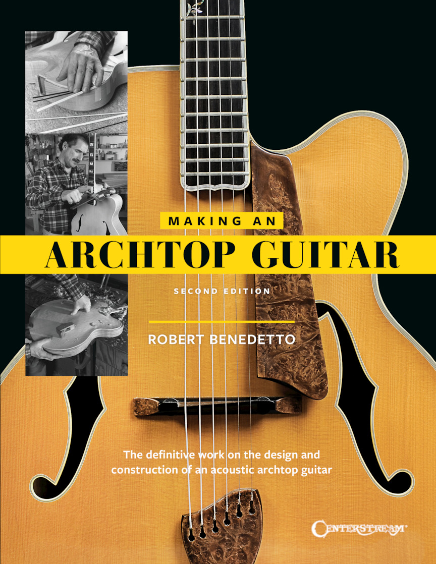 Product Cover for Making an Archtop Guitar – Second Edition