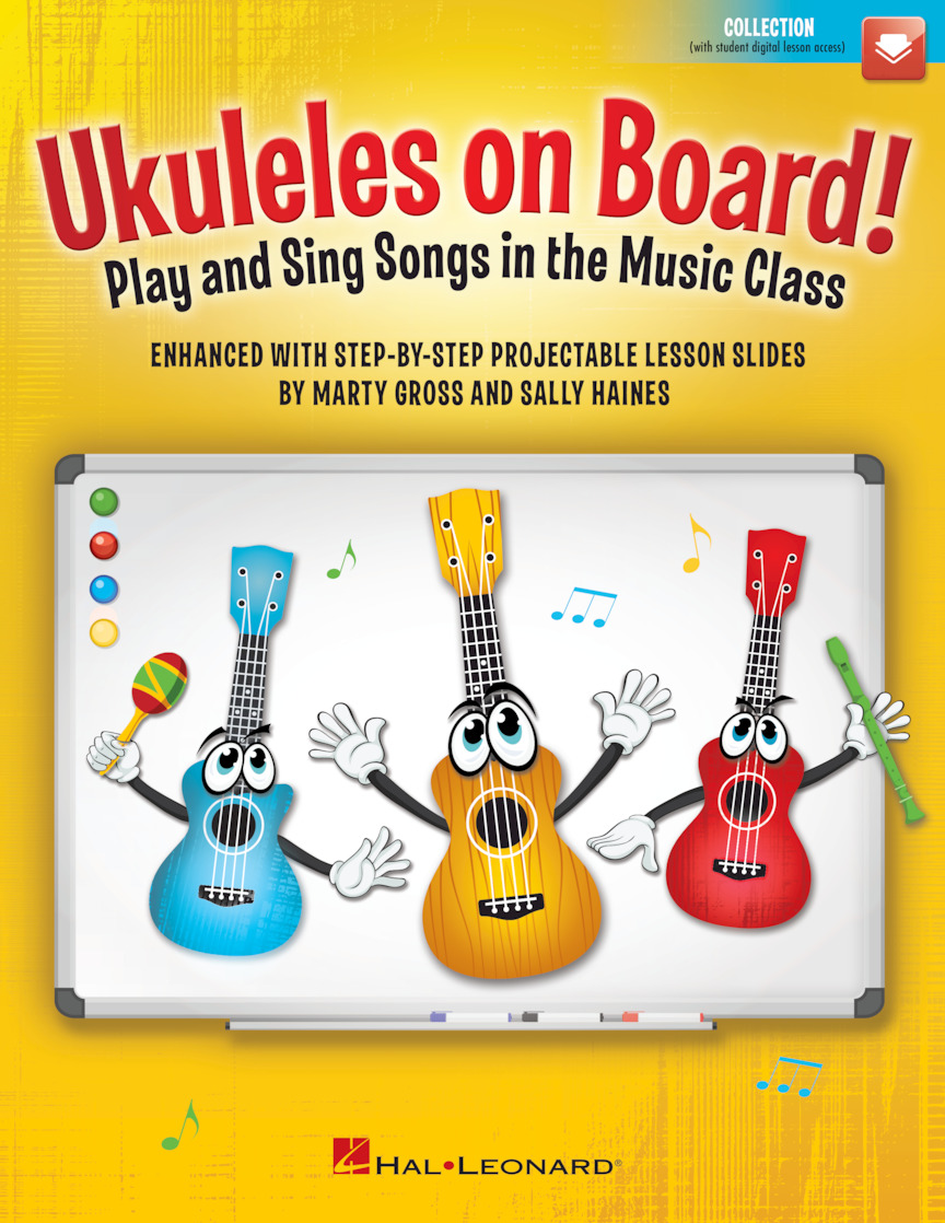 Product Cover for Ukuleles on Board!