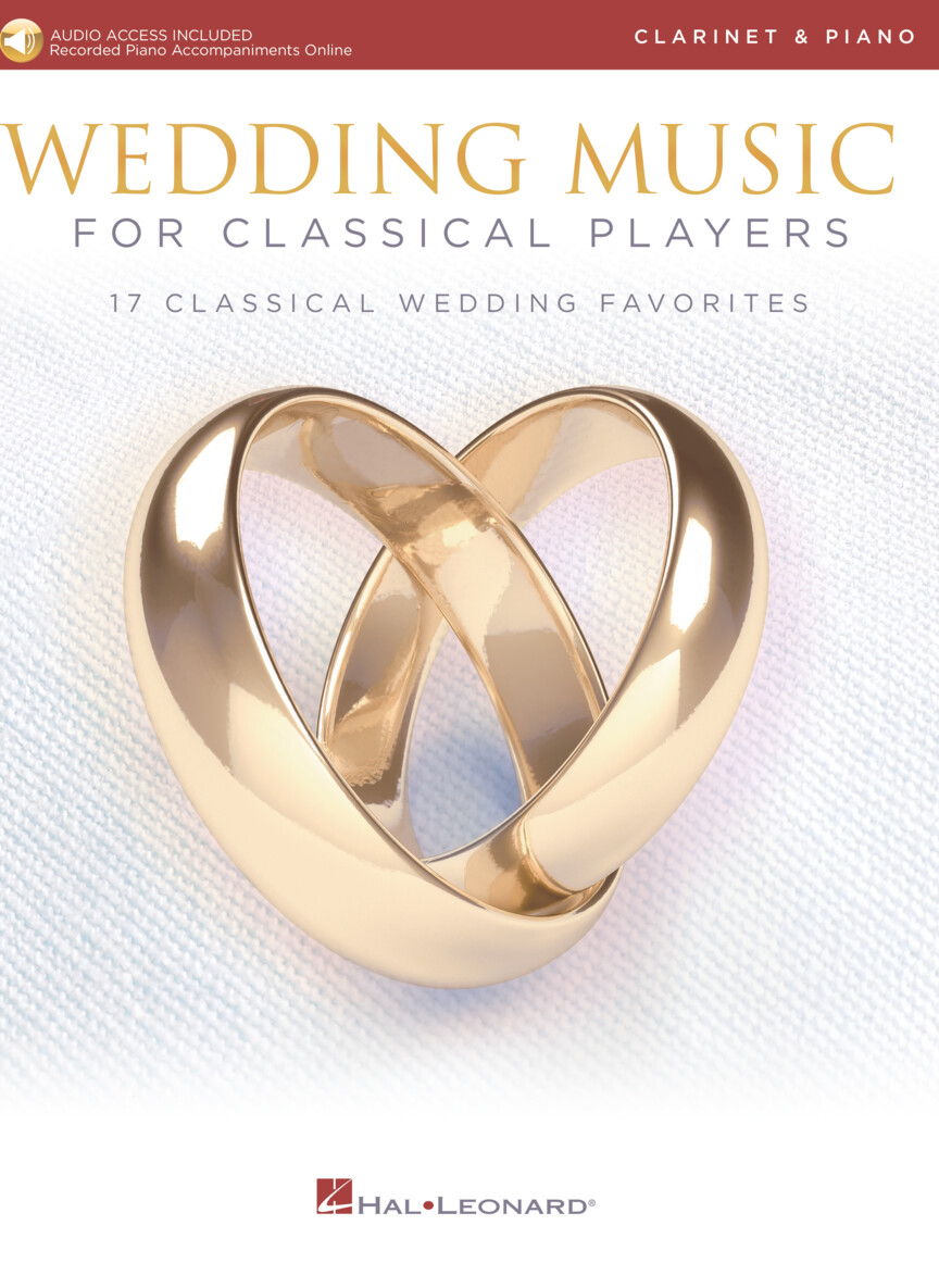 Product Cover for Wedding Music for Classical Players – Clarinet and Piano