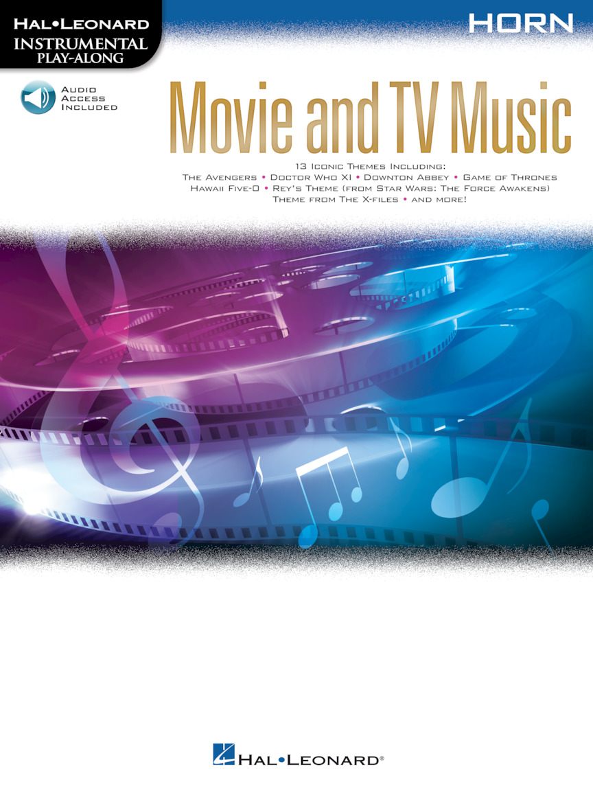 Product Cover for Movie and TV Music for Horn