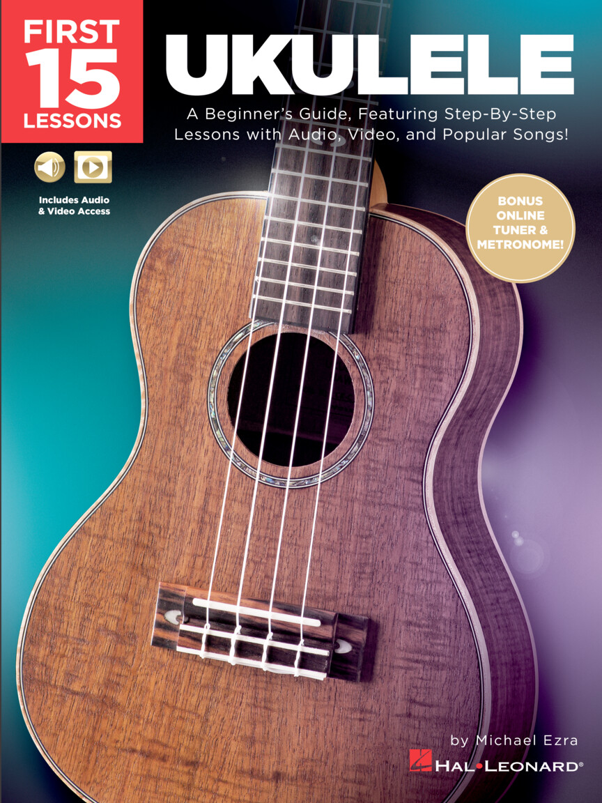 Product Cover for First 15 Lessons – Ukulele