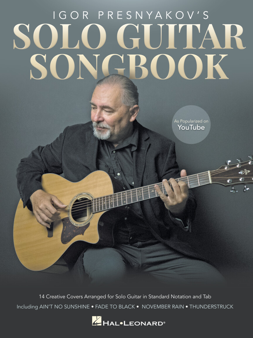 Product Cover for Igor Presnyakov's Solo Guitar Songbook