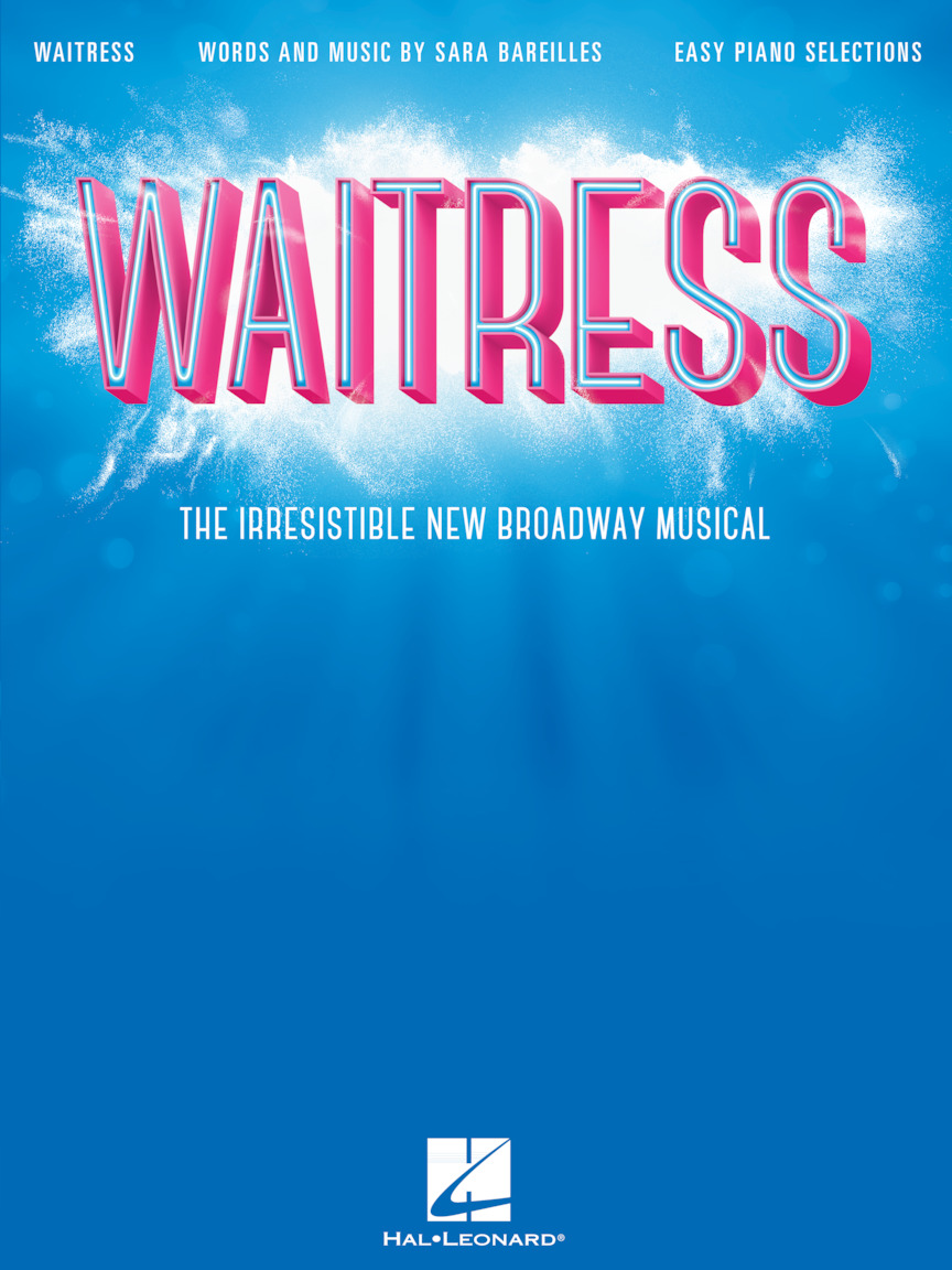 Product Cover for Waitress – Easy Piano Selections