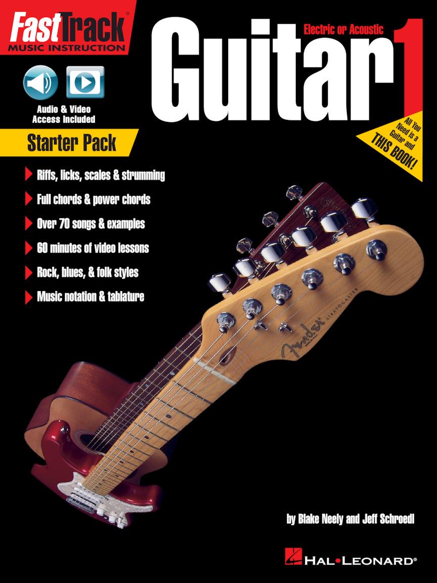 Product Cover for FastTrack Guitar Method – Starter Pack